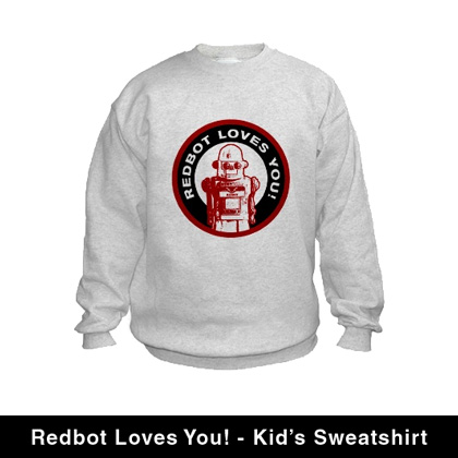 redbot-loves-you-kids-sweatshirt