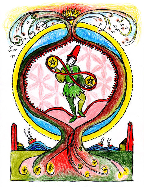 Two-of-Pentacles-drawing-color1
