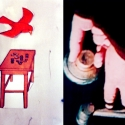 Collages - Various Collages - The Safe Table - 1998