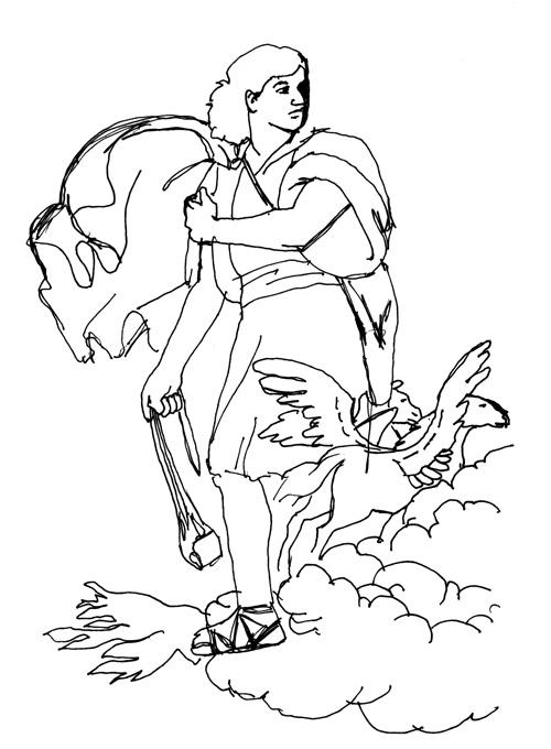 King David Drawing King-david